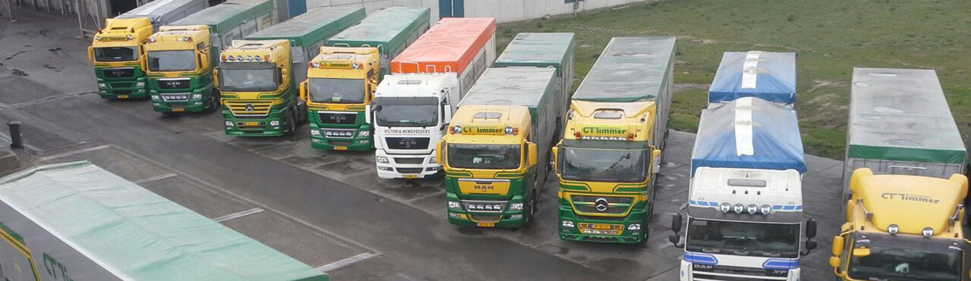 22 vrachtauto's